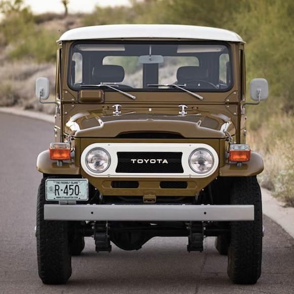 Toyota Fj Land Cruiser Front on Toyota Land Cruiser 4x4