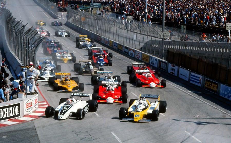1982 United States Grand Prix West - Full Race