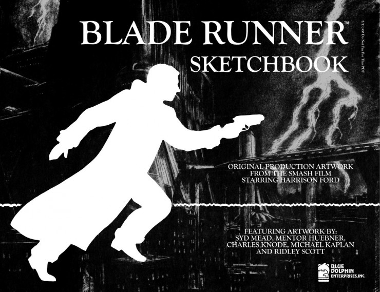 BladeRunnerSketchbook 01 740x569 Blade Runner Sketchbook   Free Download