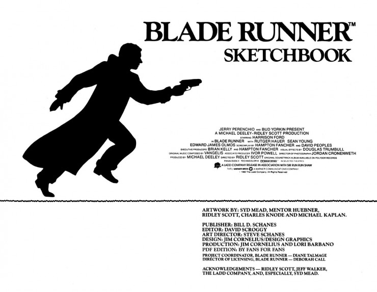 BladeRunnerSketchbook 02 740x573 Blade Runner Sketchbook   Free Download