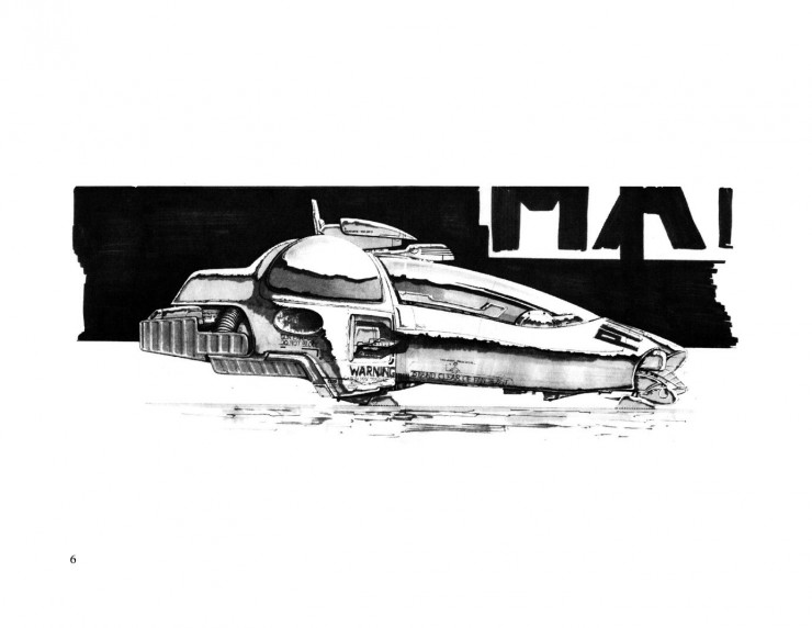 BladeRunnerSketchbook 06 740x572 Blade Runner Sketchbook   Free Download
