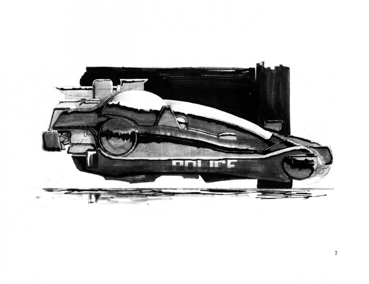 BladeRunnerSketchbook 07 740x571 Blade Runner Sketchbook   Free Download
