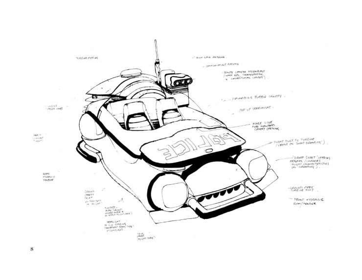 BladeRunnerSketchbook 08 740x573 Blade Runner Sketchbook   Free Download