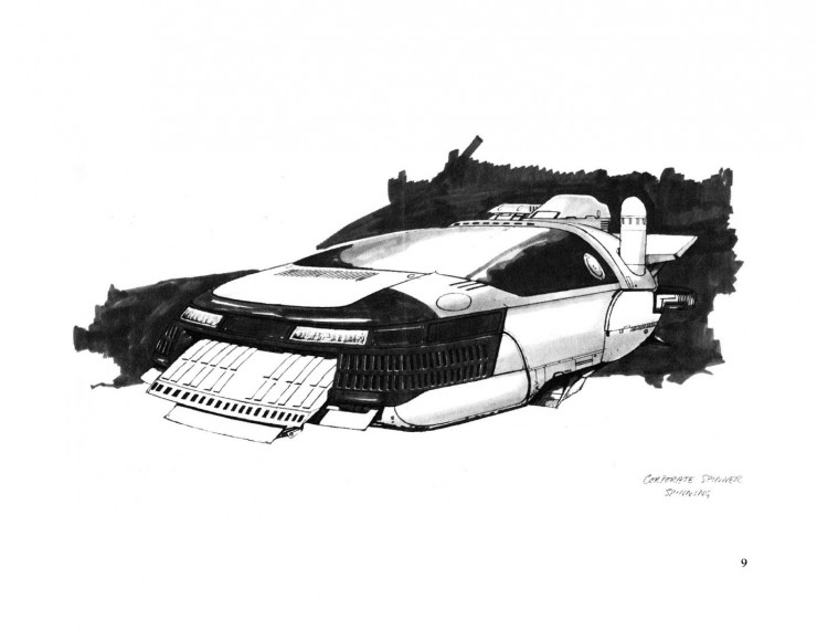 BladeRunnerSketchbook 09 740x571 Blade Runner Sketchbook   Free Download