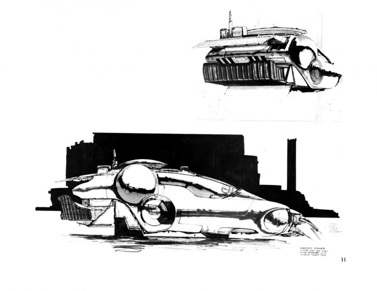 BladeRunnerSketchbook 11 740x571 Blade Runner Sketchbook   Free Download