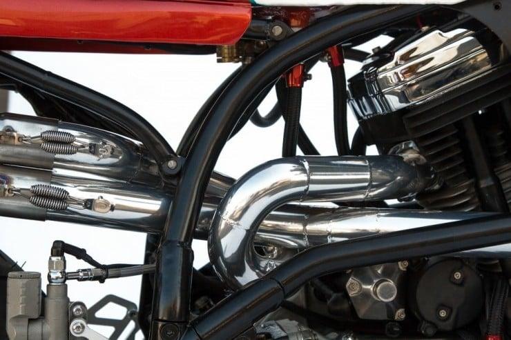 Buell Lightning X1 Exhaust