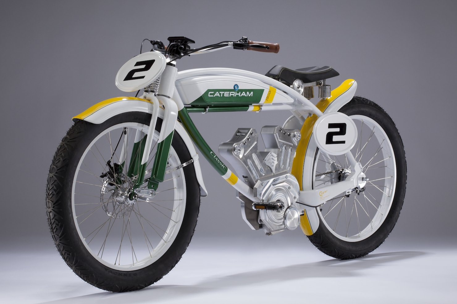 classic e bike by caterham bikes