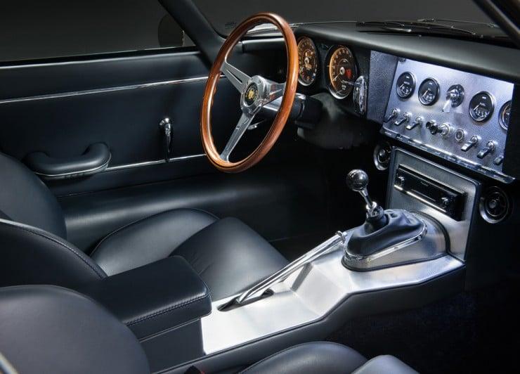 Eagle E-Type Low Drag GT Interior