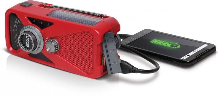 Eton Hand Turbine AM:FM Radio Smartphone