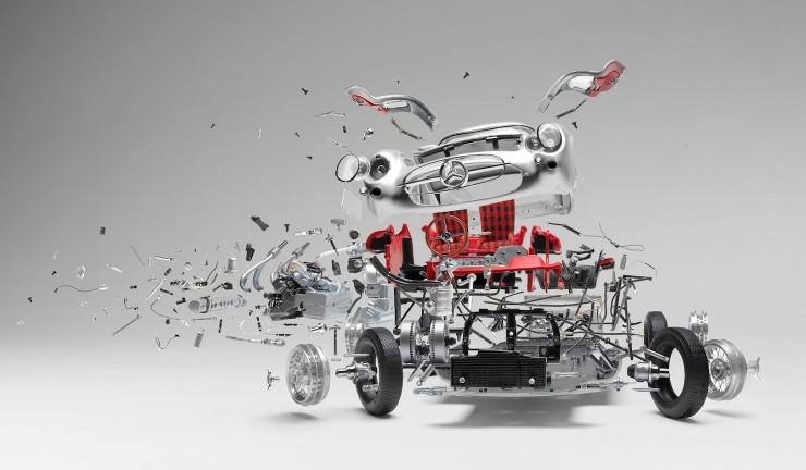 Fabien Oefner's Disintegrating Cars 2 740x432 Fabien Oefner's Disintegrating Cars
