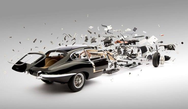 Fabien Oefner's Disintegrating Cars 740x432 Fabien Oefner's Disintegrating Cars