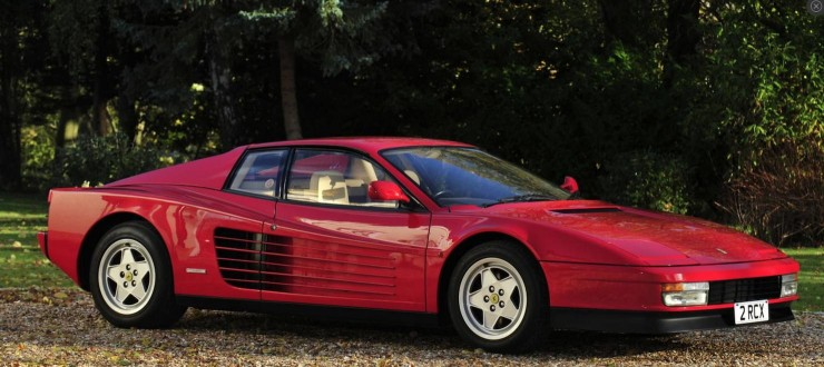 Ferrari Testarossa Berlinetta  1
