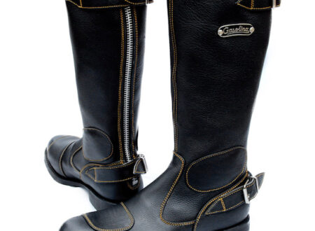 Gasolina Classic Motorcycle Boots1 450x330