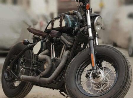 Harley Davidson Indian 21 450x330 - Harley-Davidson 883 by TJ Moto