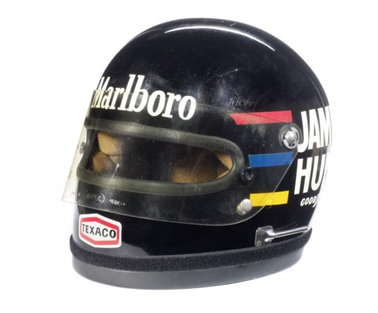 James Hunts 1976 Bell Helmet 1