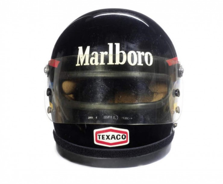 James Hunts 1976 Bell Helmet 2