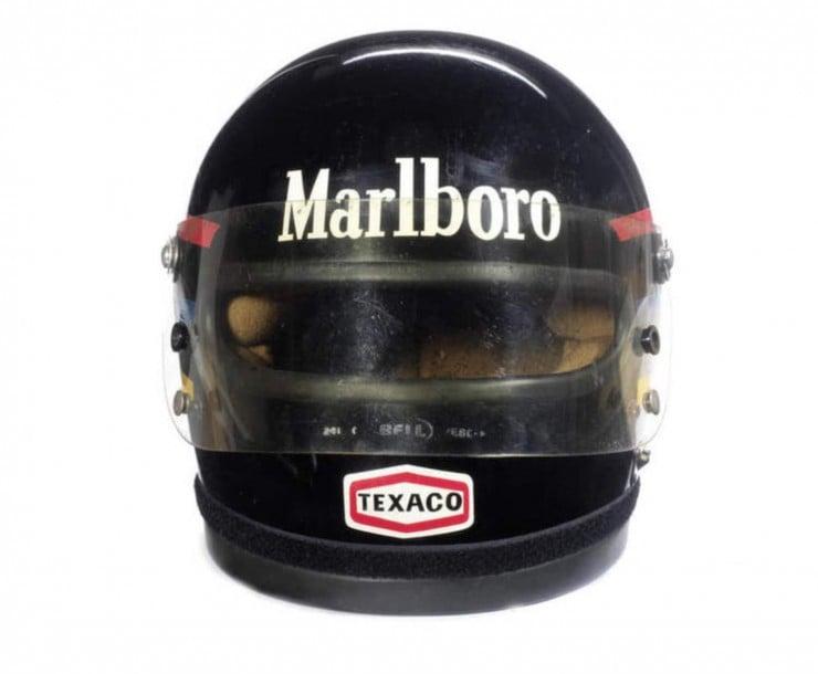 James Hunts 1976 Bell Helmet 2