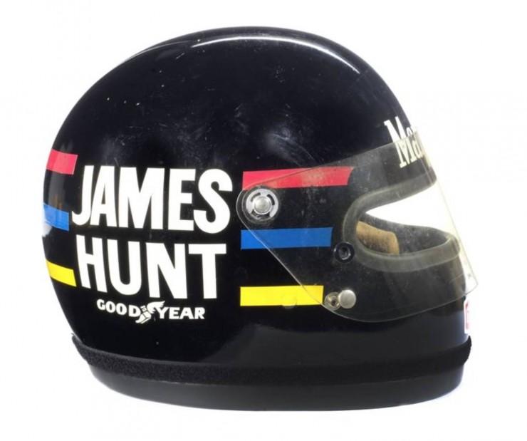 James Hunts 1976 Bell Helmet 3