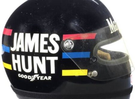 James Hunts 1976 Bell Helmet 3
