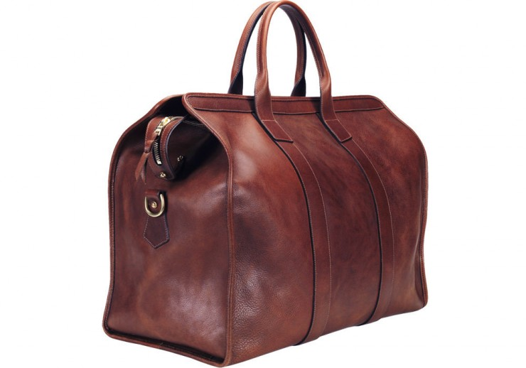 Leather Trunk Duffle Bag Lotuff
