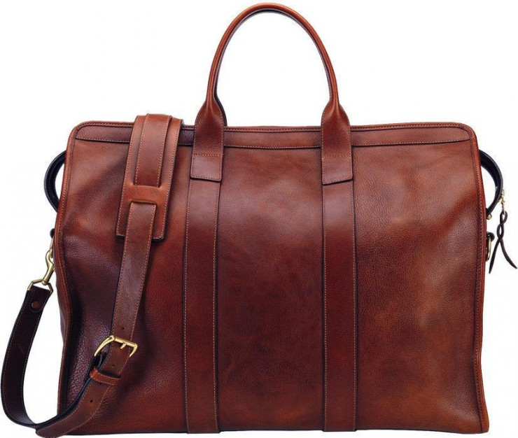 Leather Trunk Duffle Bag by Lotuff