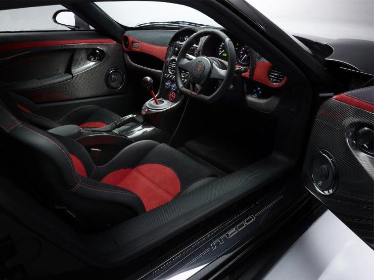 M600 P4 driver interior