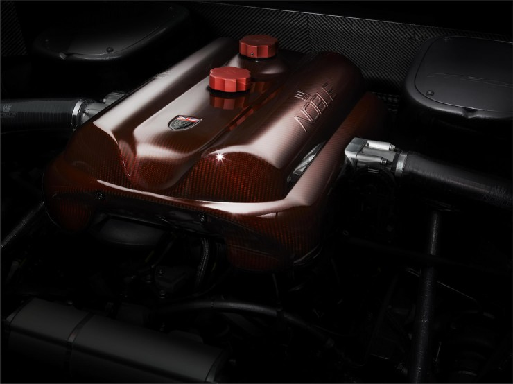 M600 P4 engine