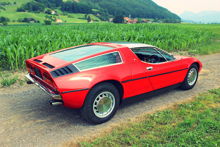 Maserati Bora Back Side