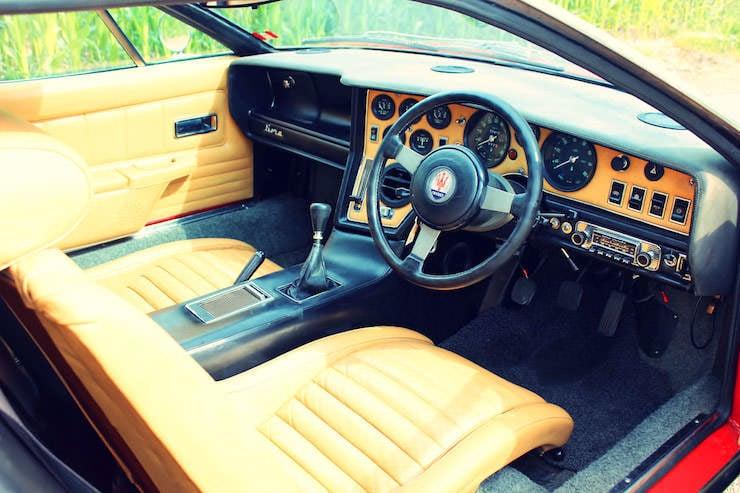 Maserati Bora Interior