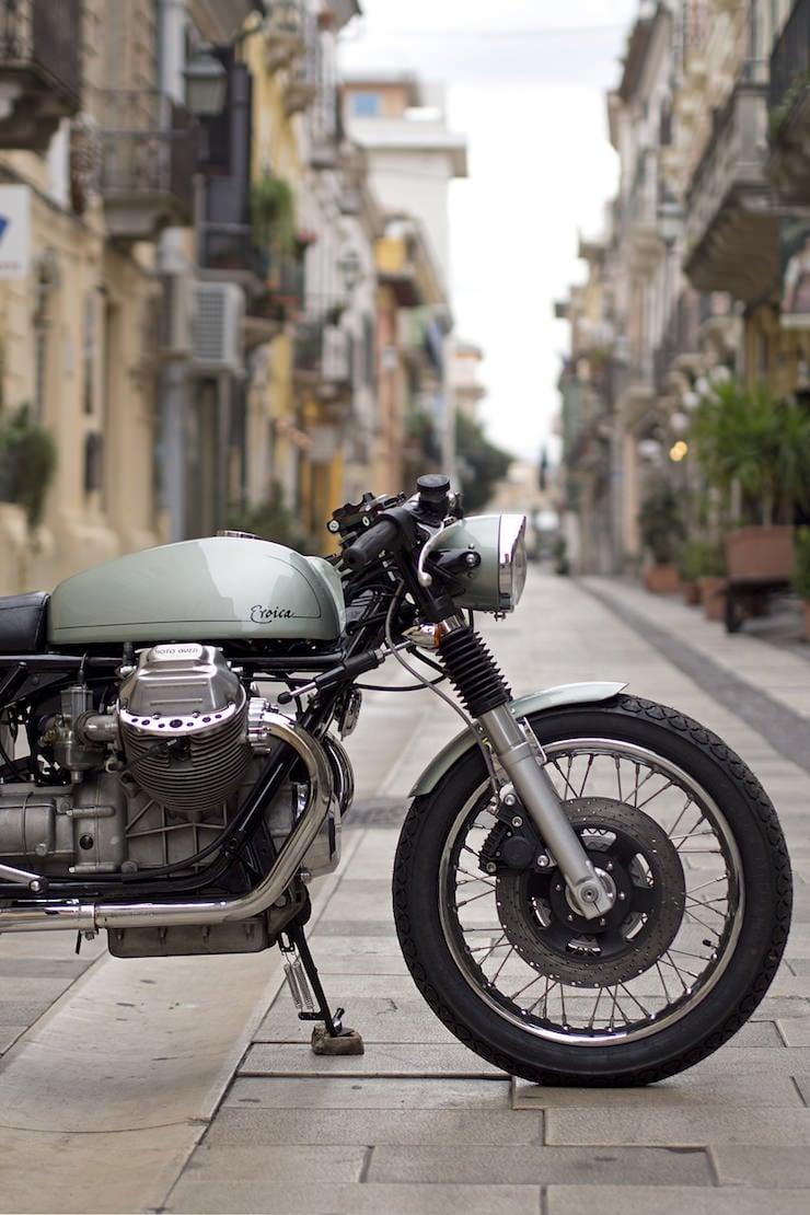 Moto Guzzi by Officine Rossopuro 6