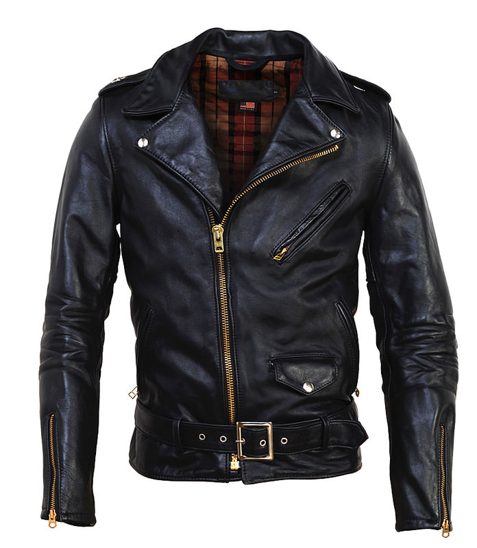 Perfecto Asymmetrical Motorcycle Jacket by Schott
