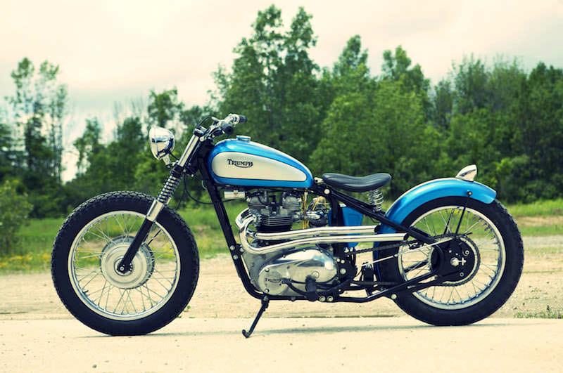 Vintage Triumph Bike 10