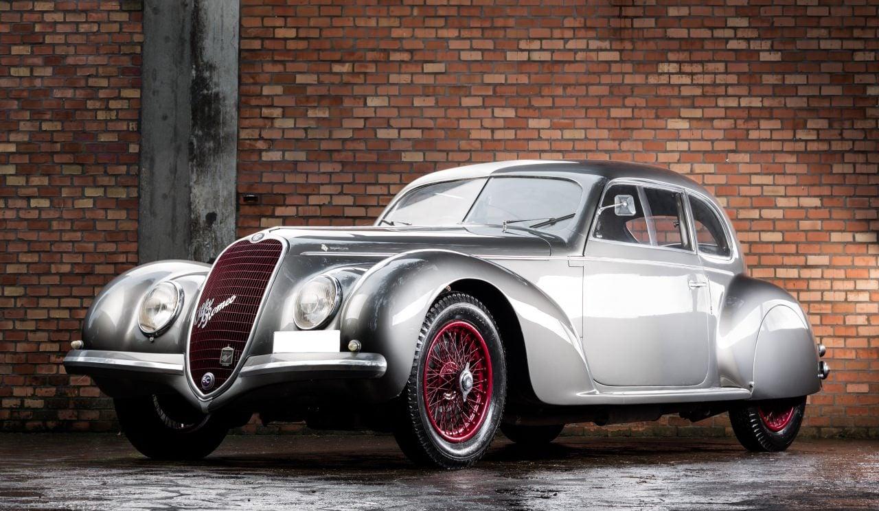 Delightful Cars · Classic Cars · Design · Italian · Luxury · Vintage · 1939 Alfa Romeo  6C