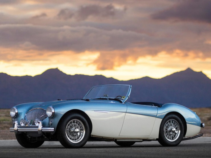 1956 Austin-Healey 100M Factory Le Mans BN2 Roadster 1