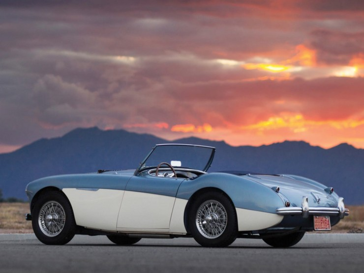 1956 Austin-Healey 100M Factory Le Mans BN2 Roadster 5