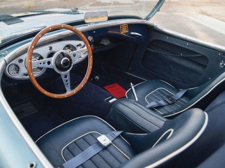 1956 Austin Healey 100M Factory Le Mans BN2 Roadster 6 740x553 1956 Austin Healey 100M Factory Le Mans
