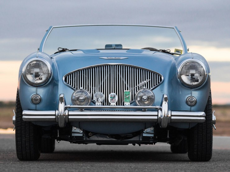 1956 Austin-Healey 100M Factory Le Mans BN2 Roadster 7