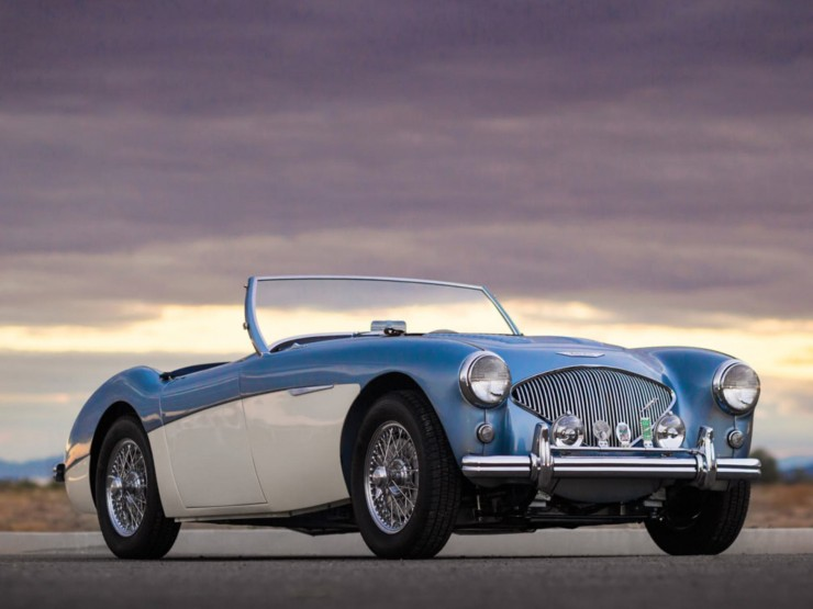 1956 Austin-Healey 100M Factory Le Mans BN2 Roadster