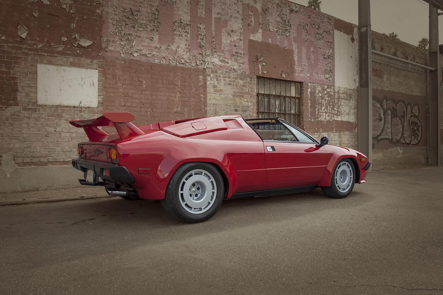 Car Garage For Sale >> 1984 Lamborghini Jalpa