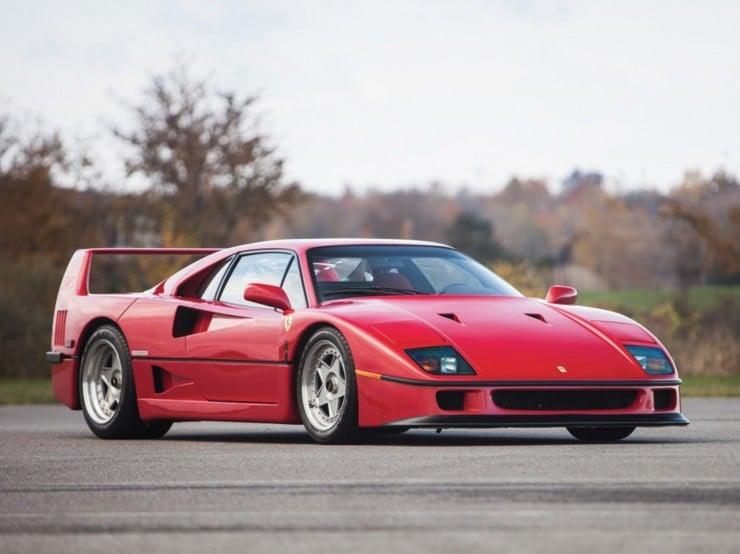 1990 Ferrari F40 1 740x554 Top 13 Cars of 2013