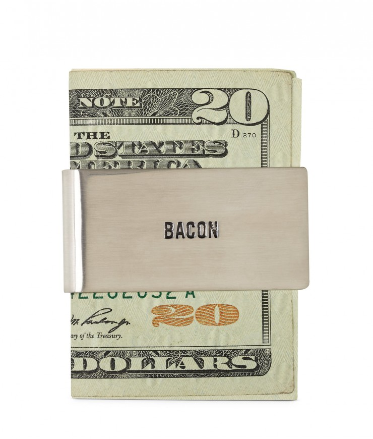 Bacon Money Clip by Jack Spade
