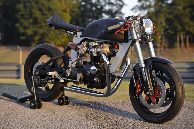 Bucephalus Triumph Custom Motorcycle 1