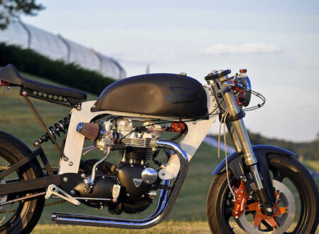 Bucephalus Triumph Custom Motorcycle 101 450x330 - Bucephalus by Loaded Gun Customs