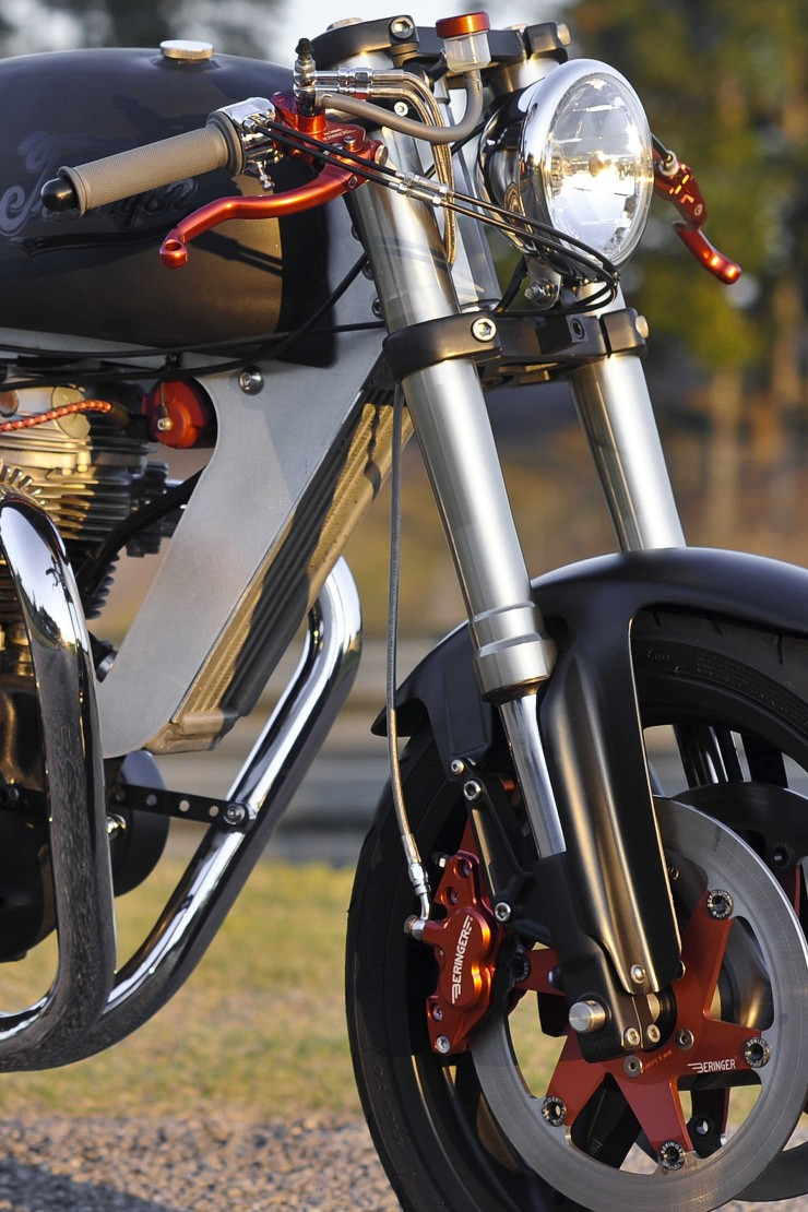 Bucephalus Triumph Custom Motorcycle 2
