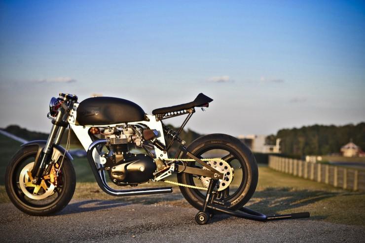 Bucephalus Triumph Custom Motorcycle 3