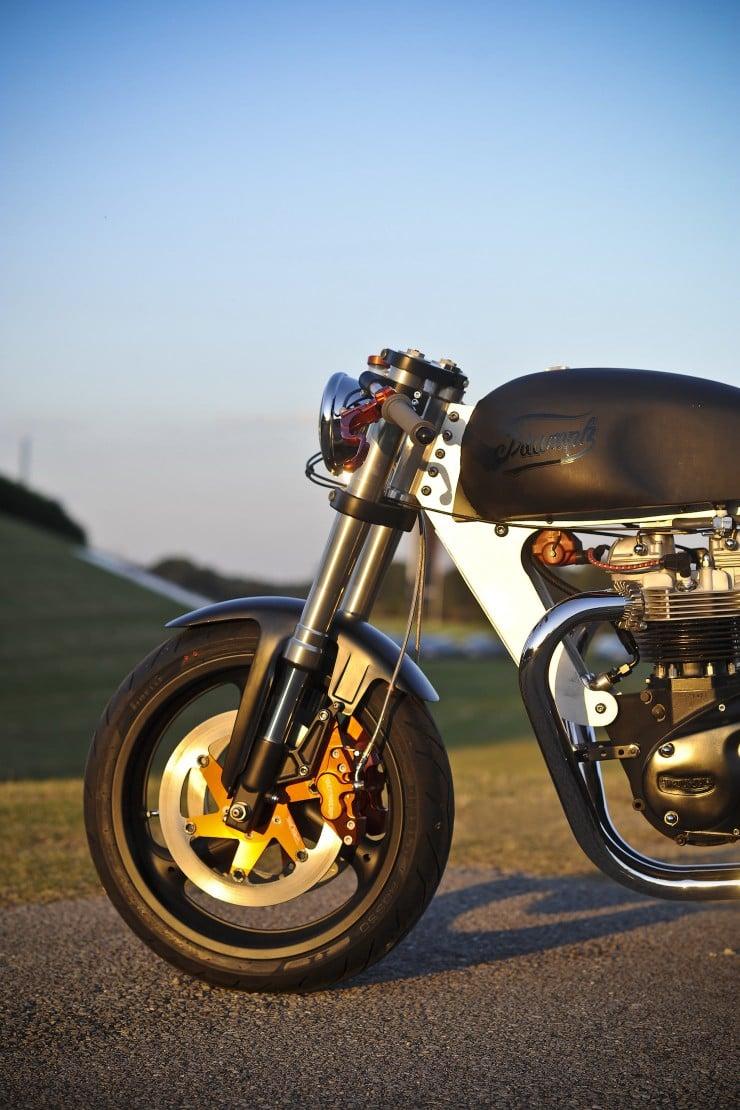 Bucephalus Triumph Custom Motorcycle 7
