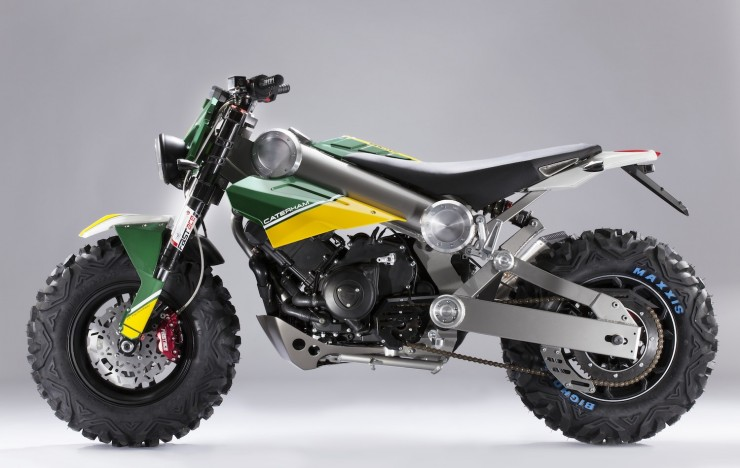 Caterham Brutus 750 740x468 Top 13 Motorcycles of 2013