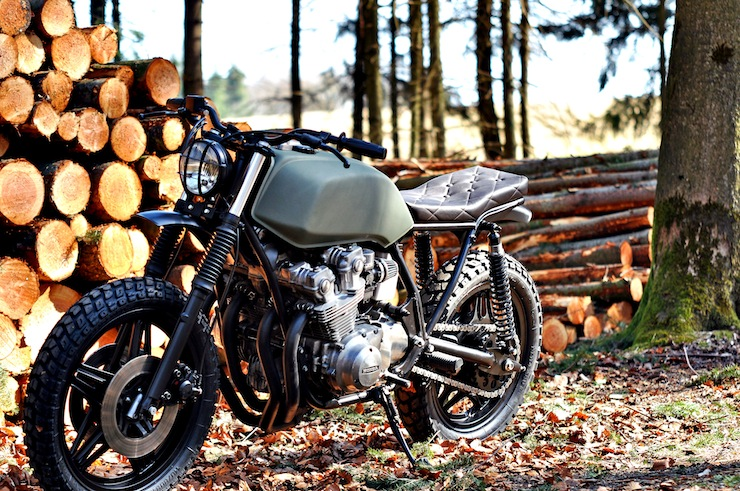 Honda CB750 Scrambler Motorbikes Top 13 Motorcycles of 2013