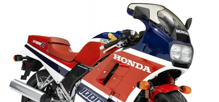 Honda VF1000R Front