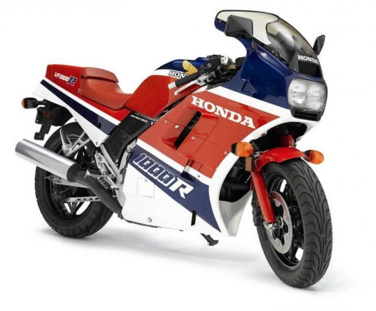 Honda VF1000R Profile